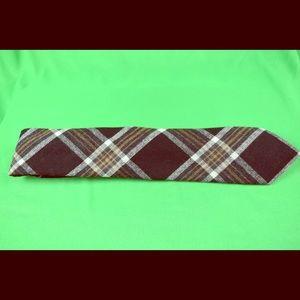 Merona Wool Blend Plaid Tie Unisex Design 60$ MSRP